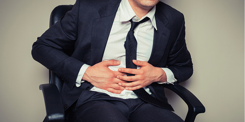 Did you know that stress can cause Stomach cramps?